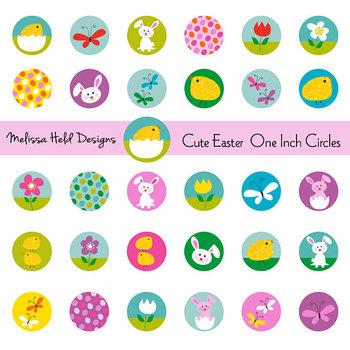 Clipart: Easter Circles Clip Art