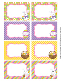 Easter Classroom Decor Bin Labels