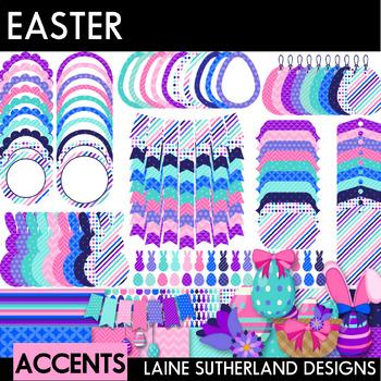 Easter Clip Art & Accent Set - 100 images {digital paper, clip art & accents}