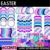 Easter Clip Art & Accent Set - 100 images {digital paper,
