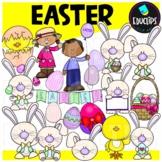 Easter Clip Art Bundle {Educlips Clipart}