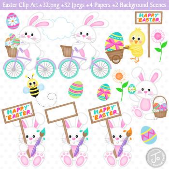 Easter Clip Art (C33)