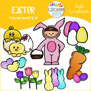 Easter Clip Art Color
