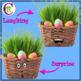 Easter Clip Art | Easter Basket Emotions Clipart