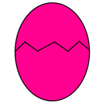 Easter Clip Art (Eggs plain and cracked, bunny, flower, foxes, carrot)