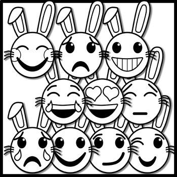 Easter Emoji Clip Art