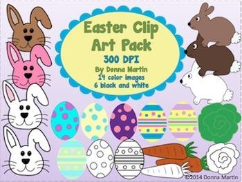 Easter Clip Art Pack