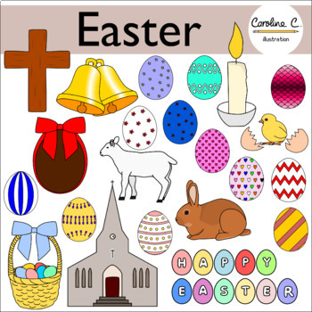 Easter Clip Art Set