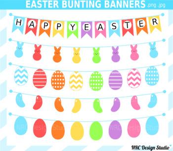 Easter Clip Art, Spring, Banner Clipart