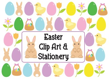Easter Clip Art and Stationery