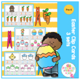 Easter Clip Cards - 3 sets