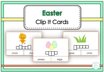 Easter Clip It Cards
