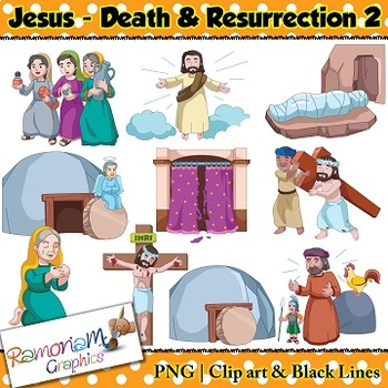 Easter Clip art The Death & Resurrection of Jesus