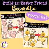 Easter Clipart || Build-a-Friend BUNDLE || MOVABLE IMAGES CLIPART