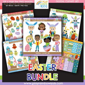 Easter Clipart Bundle