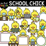 Easter Clipart - Chick At School Clip Art - Jen Hart Design