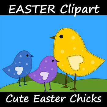Easter Clipart Cute Chick Chickens 2