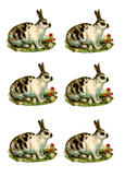Easter Stickers, Easter Clipart, Easter Collage Sheet, Eas