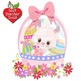 Easter Clipart, Easter Egg clipart, Easter Bunny clipart, Baskets, AMB-1169