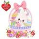 Easter Clipart, Easter Egg clipart, Easter Bunny clipart,