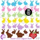 Easter Clipart, Easter Egg clipart, Easter Bunny clipart,