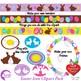 Easter Egg clipart, Easter Bunny clipart, {Best Teacher Tools} AMB-1822