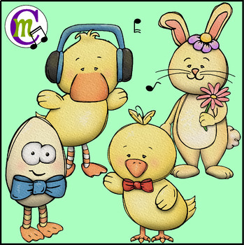 Easter Clipart | Easter Friends