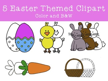 Easter Clipart FREEBIE