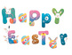 Easter Clipart Images: Alphabet Letters