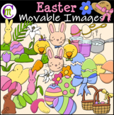 Easter Clipart || MOVABLE IMAGES CLIPART