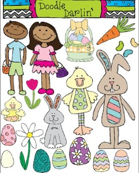 Easter Clipart Set