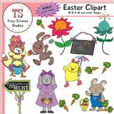 Easter Clipart Set {Tracy Sztanya Studios}
