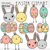 Easter Clipart - Studio ELSKA