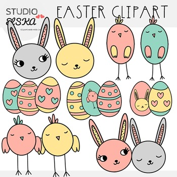 Easter Clipart - Studio ELSKA