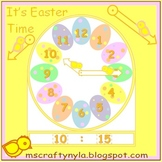 Easter Math Clocks Craft