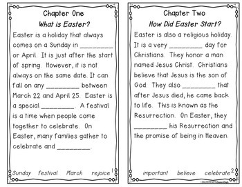 Easter Instant Reading Lesson