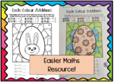 Easter Code Colour Addition - Differentiated!