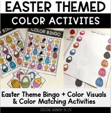 Easter Color Activities (Small Groups and Centers)