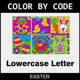 Easter: Color By Letter (Lowercase)