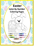 Color by Number Math,Color by Number Easter ,Coloring Pages Special Education