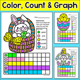 Easter Activities: Counting and Graphing Shapes