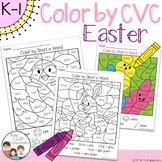 Easter Color by CVC Word