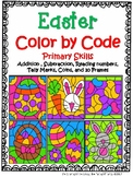 Easter Color by Code {Primary Math Skills}