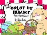 Easter Color by Number