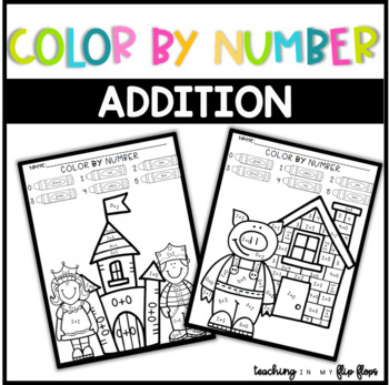 Color by Number- Addition to 5