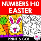 Easter Color by Number Set