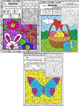 Easter Color by Symbol (Music)