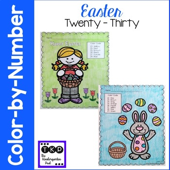 Easter Color-by-Numbers
