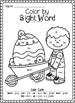 Easter Color by Sight Word Bundle (Pre-primer & Primer)