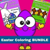 Easter Coloring BUNDLE